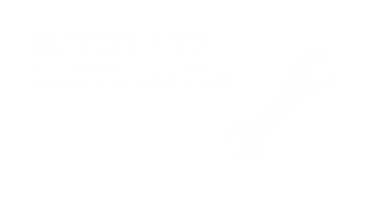 Repairs and buffer layers