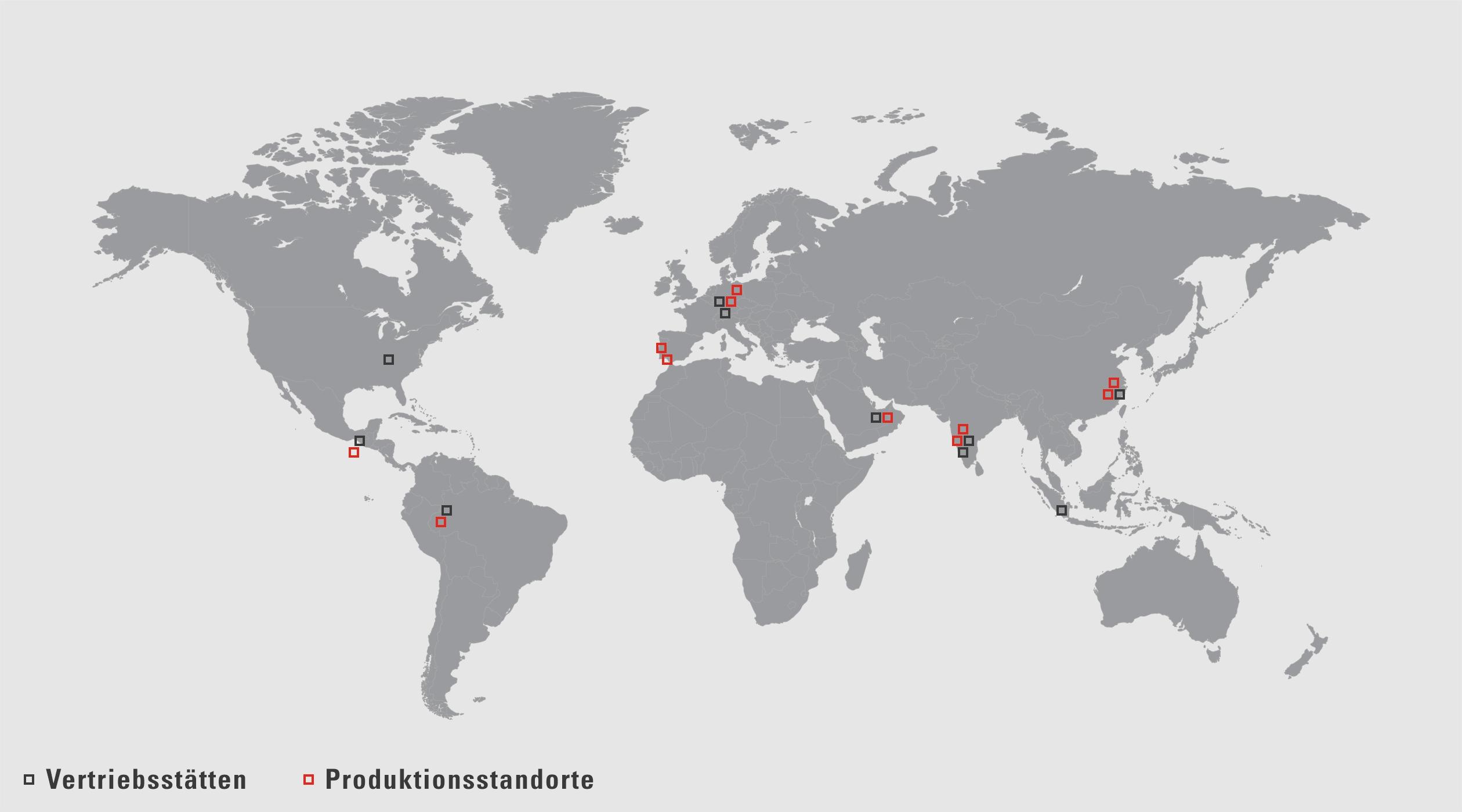 VAUTID Vertriebsstätten und Produktionsstandorte