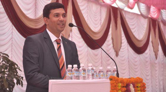 Eröffnungsrede Anand Sundaram, Geschäftsführer VAUTID INDIA
