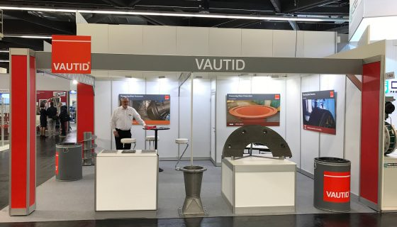 VAUTID stand at POWTECH 2019